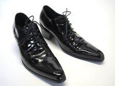 "Mens Black Diabrock Dess Shoes Funky Urban Style Fashion w Square Toe 2.5"" heel"