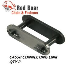QTY OF 2 CA550 CONNECTING LINK FOR CA550 ROLLER CHAIN