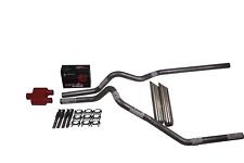 "Chevy Silverado GMC Sierra 15-18 2.5"" Dual exhaust Cherry Bomb Extreme weld tip"