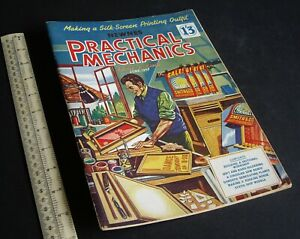 Practical Mechanics Mag. Rocking Horse, Waterline Ship Models. June 1957 Vintage