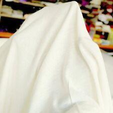 Jersey aus Baumwolle Stoff für Kleidung u Deko weiche elastisch Meterware Tolko