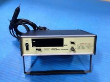 USED TAKEDA RIKEN TR5143 FREQUENCY COUNTER 5143 WITH PROBE (Q7)