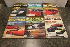 COMPLETE ROAD & TRACK MAGAZINE JANUARY-DECEMBER 1988 (OAK9677-1 [LOC.DDD] #220)