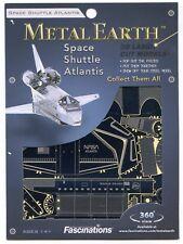 Fascinations Metal Earth 3D Laser Cut Steel Model Kit - Space Shuttle Atlantis