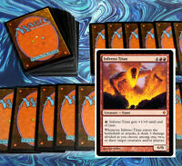 mtg RED DECK inferno titan Magic the Gathering rare cards
