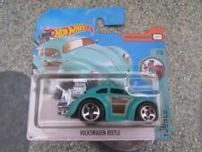 Hot Wheels 2017 #074/365 VOLKSWAGEN BEETLE turquesa TOONED
