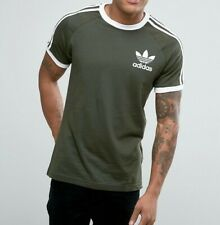 Adidas Originals Men's 3 Stripes Tee T-shirt Crew Neck Short Sleeve RRP £29.99