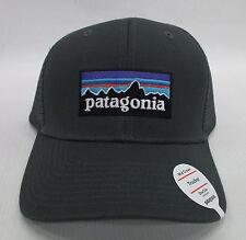 Patagonia Mens P-6 Trucker Snapback Cap/Hat 38017 Forge Grey