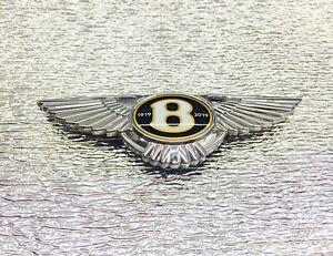 BENTLEY BENTAYGA 1919-2019 100 CENTENARY FRONT BADGE EMBLEM