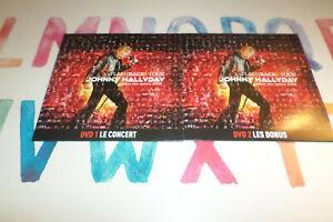 2 DVD / JOHNNY HALLYDAY - FLASHBACK TOUR PALAIS DES SPORTS 2006  / 2 DVD
