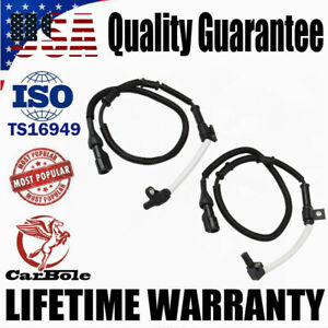 2x Front ABS Wheel Speed Sensor XL3Z2C204CA For Ford Expedition F150 F250 4WD