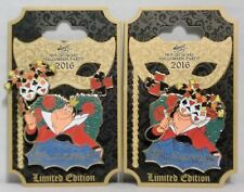 Disney Mickey Not So Scary Halloween Party 2016 Queen of Hearts 3-D Pin LE 5555