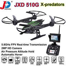 amélioré JXD 510G RC Drones Quadriorotor avec 2MP HD Camera 5.8G FPV Hélicoptère