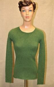 Pull femme OLD NAVY 100% cachemire vert taille XS