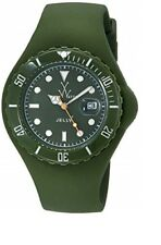 New Ladies ToyWatch JTB20HG Jelly Thorn Green Silicone Date Watch $160