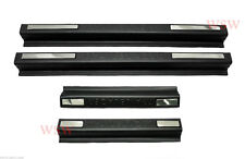 MATTE BLACK DOOR SILL SCUFF PLATE FITS HOLDEN COLORADO 7 TRAILBLAZER SUV 2012 17