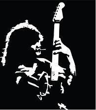 Eddie Van Halen #1 VINYL DECAL Guitar, 70' 80's 90's, hard rock, bumper sticker