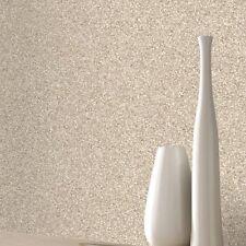 Rasch Plain Granite Marble Shimmer Brown Beige Wallpaper 220001 Realistic Shine