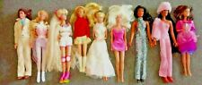 9 vintage barbies including collectable CHER dolls