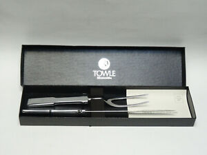 TOWLE SILVERSMITHS 2 Piece CARVING SET * NEW in BOX
