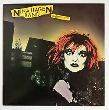 Nina Hagen Band Unbehagen LP España original 1979 incluye funda interior