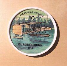 Jello Pane Wheels Pioneers # 10 Burgess - Dunn 1914