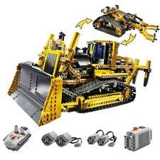 LEGO COMPATIBLE technic 8275 motorisé RC BULLDOZER Télécommande building bloc