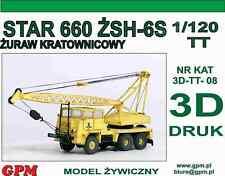 GPM 3D-TT-08 - Kranwagen Star 660 - 3D ausdruck. Bausatz. Neu & Ovp. TT PKP