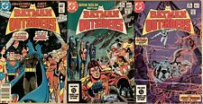 Batman And The Outsiders DC Comics 1-32 Plus Annual 1, 2. Overall Condition VG.