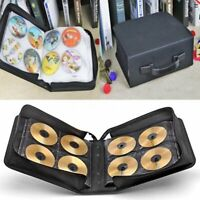288 Discs CD DVD Bluray Storage Holder Solution Binder Book Carrying Case Large