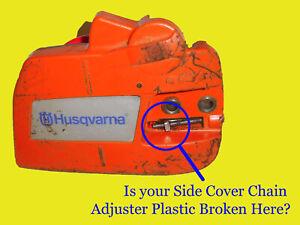 Husqvarna 120 136 137 235 236 Repair Plate for Broken Chain Brake / Side Casing