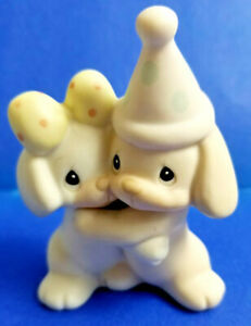Enesco Precious Moments Let's Be Friends Puppy Dog Puppies Figurine 527270