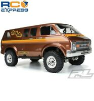 Pro-Line 70's Rock Van Clear Body for 12.3 WB Crawlers PRO3552-00