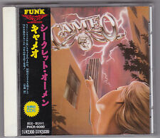 CAMEO ‎ SECRET OMEN /   with OBI / Original Japan CD  MERCURY PHCR-6080