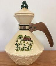 Vintage Metlox Pottery Poppytrail Homestead Provincial Tea Coffee Carafe Pitcher