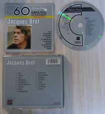 RARE CD JACQUES BREL LE MEILLEUR BEST OF SERIE SILVER 60 MINUTES