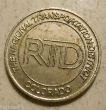 Regional Transportation District (Denver, Colorado) transit token - Co260R