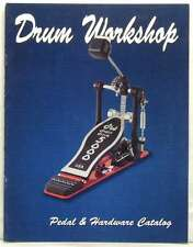 DRUM WORKSHOP MAGAZINE PEDAL & HARDWARE 1999 CATALOG PETER CRISS JASON BONHAM!!