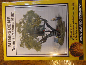 Woodland Scenics HO #107  -  Tommy's Treehouse