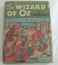 The Wizard of Oz 1939 L. Frank Baum w/DJ Movie Edition