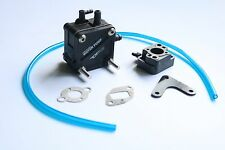Black Water Pump c/w carburetor insulator fit Zenoah RCMK Engine for RC Gas Boat