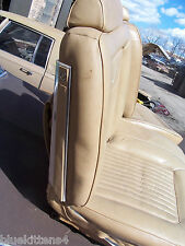RIGHT HALF ONLY SPLIT BENCH SEAT  No Armrest BROUGHAM FLEETWOOD OEM USED 1987