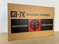 KENWOOD KR 4070 NOS WOODEN CABINET CB-7K WALNUT VENEER