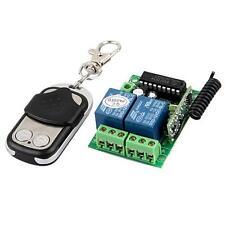 Telecomando + Ricevitore per Garage Cancelli 433.92MHz Self-locking Universale