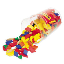 Learning Resources Plastic Pattern Blocks 1cm Set of 250