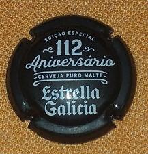 CHAPA TAPON DE BOTELLA ESTRELLA DE GALICIA 112 ANIVERSARIO