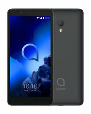"Alcatel 1C Smart Mobile Phone 2019 Quad Core 5"" Dual Sim 8GB Grade A Black"