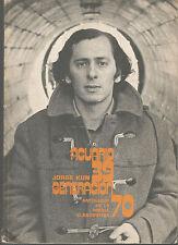 Jorge Kun / Acuario 39 / Generacion 70 / Antologia de la poesia clandestina