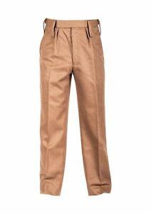 Genuine British Army FAD Barrack Dress Trouser No.2 Khaki Brown Formal All Sizes
