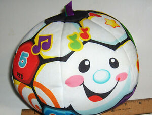 Fisher-Price - Laugh Learn Singing Soccer Ball Baby Toys Educational